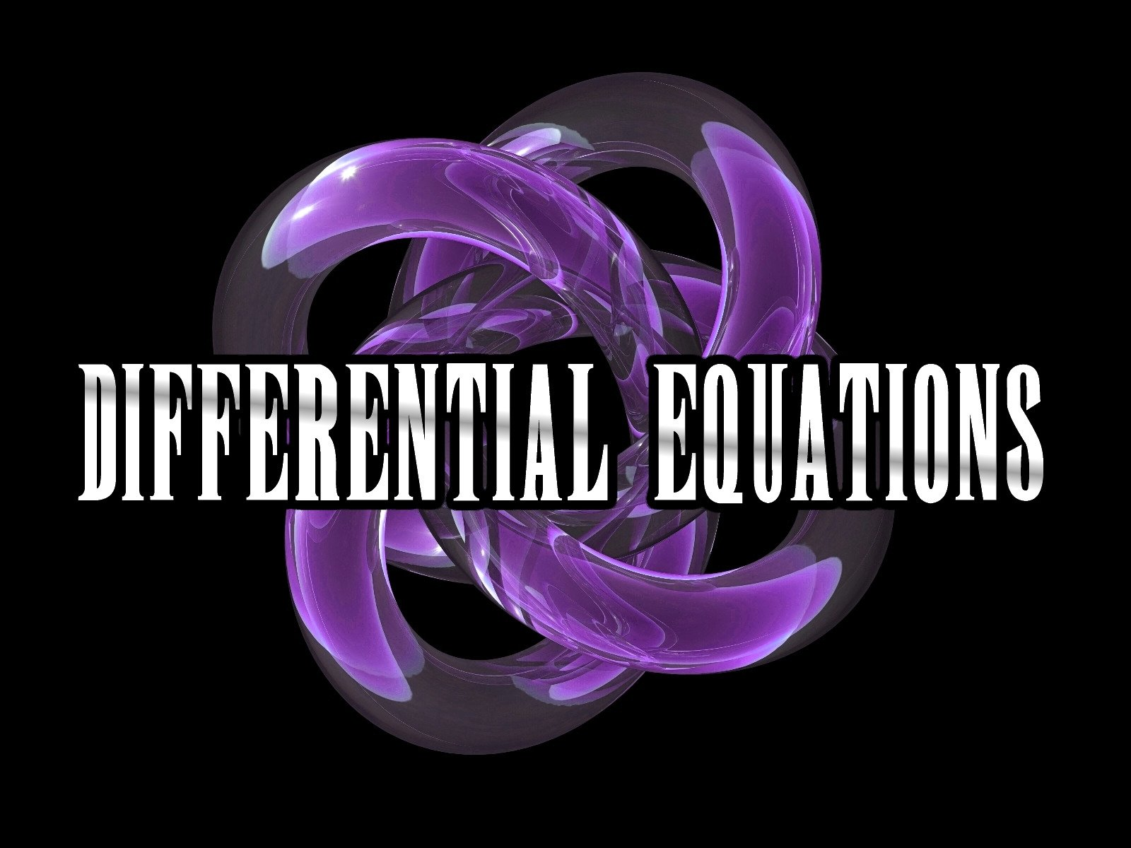 Differential Equations (BSCPE 2A)