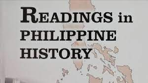 READINGS IN PHILIPPINE HISTORY - BS CPE 1B