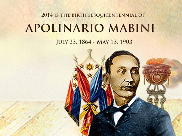 RLANDICHO: Mabini's Life, Works and Writings