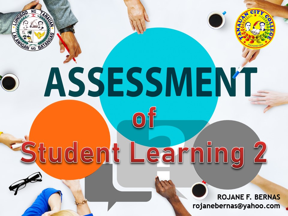 Assessment of Student Learning 2